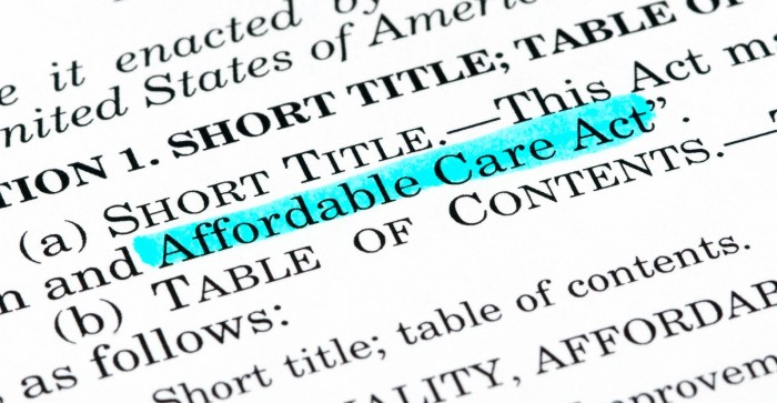 The Affordable Care Act and value-based care