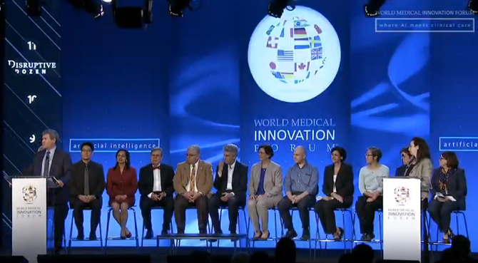 A panel of experts from Partners HealthCare presents the Disruptive Dozen at WMIF19.