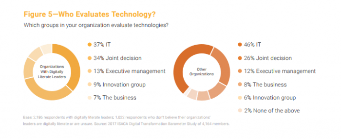 Organizations with executives that take an active role in health IT pilots