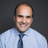 A picture of Shahid Shah, Entrepreneur-in-Residence at the AHIP Innovation Lab and CEO of Netspective Communications